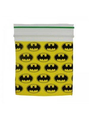 Grip Sealed Printed Baggies - Batman Design (50mm x 50mm)
