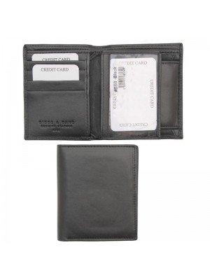 Wholesale Biggs & Bane Men's RFID Leather Wallet - Black