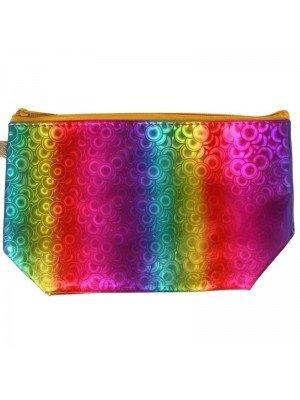 Wholesale Cosmetics Rainbow Bag - Assorted Designs