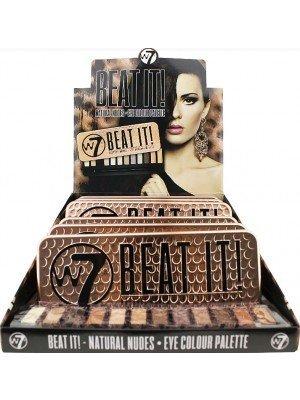 Wholesale W7 Beat It Natural Nudes Eyeshadow Palette