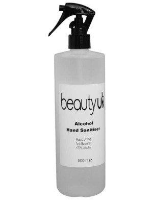 Wholesale Beauty UK 70+% Alcohol Hand Sanitiser- 500ml
