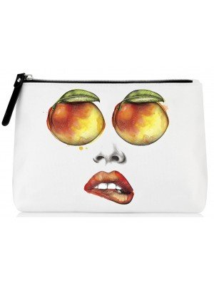 Being By Sanctuary Spa Makeup Bag - Chilli Mango