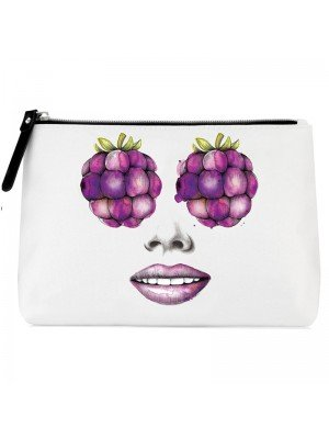 Being By Sanctuary Spa Makeup Bag - Lychee Blossom