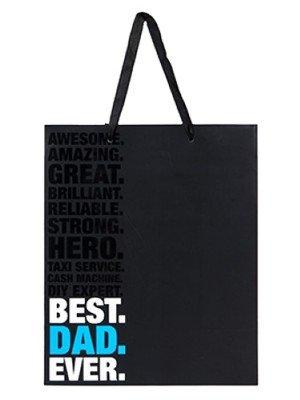 Wholesale Best Dad Ever Gift Bag - Large