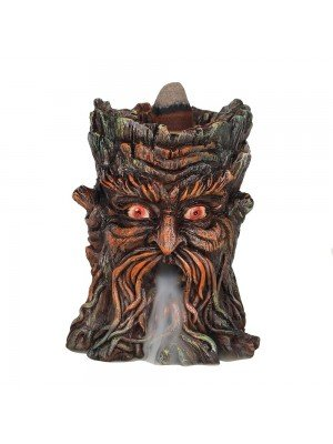 Wholesale Small Green Man Backflow Incense Burner