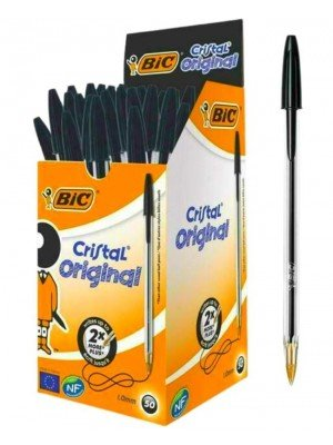 Wholesale BiC Cristal Original Ballpoint Pens - Black