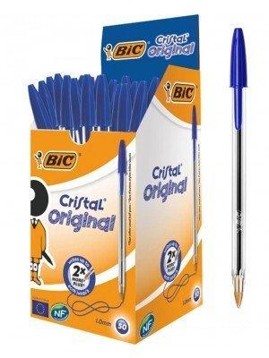 Wholesale BiC Cristal Original Ballpoint Pens - Blue