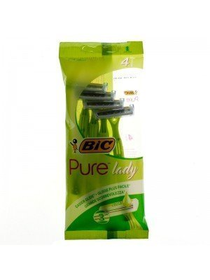 Wholesale BiC Pure Lady Triple Blade Disposable Razors With Aloevera