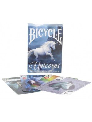 Bicycle Unicorns Playing Cards By Anne Stokes