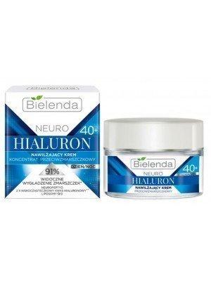 Bielenda 40+ Neuro Hyaluron Hydrating Face Cream - Day/Night