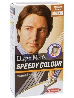 Wholesale Bigen Men's Speedy Hair Colour - Medium Brown (105)
