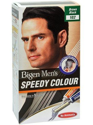 Wholesale Bigen Men's Speedy Hair Colour - Brown Black (102)