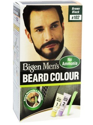 Wholesale Bigen Men's Beard Colour - Brown Black (B102)