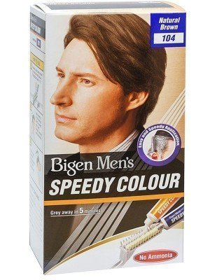 Wholesale Bigen Men's Speedy Hair Colour - Natural Brown (104)