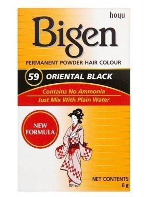 Bigen Permanent Powder Hair Colour - Oriental Black (59)