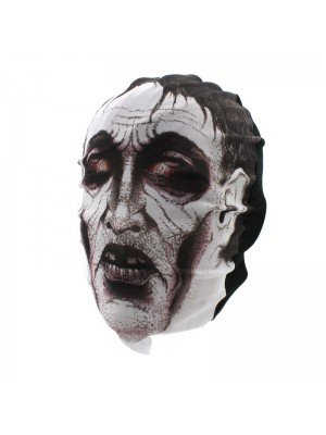 Biker Mask - Frankenstein Design (White)
