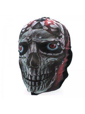 Biker Mask - Gothic Themed Skull With Piercings