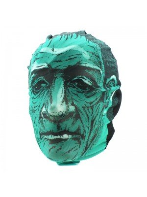 Biker Mask - Green Frankenstein Design
