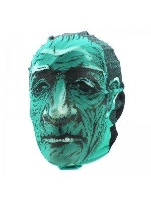 Biker Mask - Green Frankenstein Design