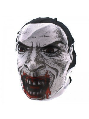 Biker Mask - Vampire With Bloody Features