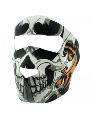 Biker Mask with Skull Design