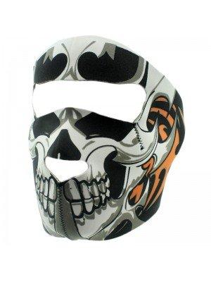 Biker Mask with Skull Design
