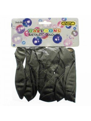 Wholesale Party Balloons - Metallic Silver