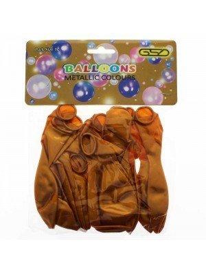 Wholesale Party Balloons - Metallic Gold
