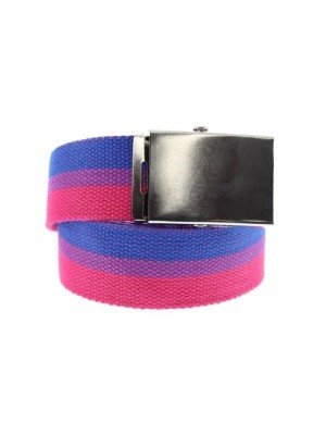 Wholesale Bisexual Canvas Webbing Belt With Sliding Buckle