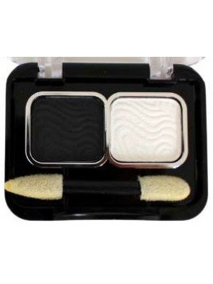 Wholesale Laval Mixed Doubles Eyeshadow - Black & White