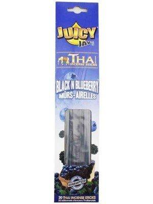 Wholesale Juicy Jay's Thai Incense Sticks - Black & Blueberry