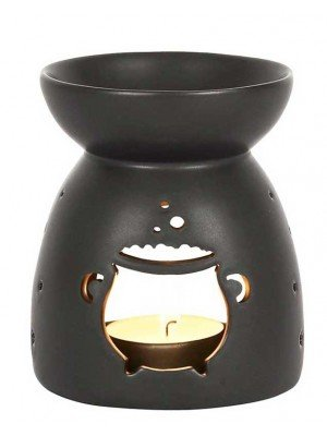 Wholesale Black Cauldron Cut Out Oil Burner