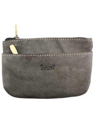 Wholesale Genuine Forum Leather Coin Purse - Black