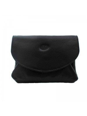 Womens Purse Genuine Leather Black