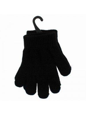 Children's Plain Magic Gloves - Black