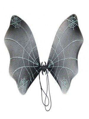 Black Spiderweb Wings