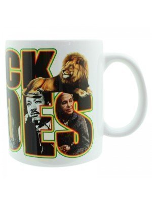 Black Heroes New Bone China Mug