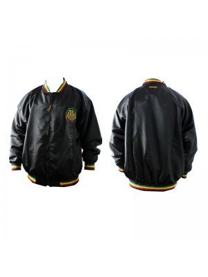 Black Rasta Themed Jacket (Assorted Sizes)