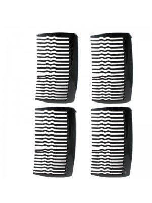 Slide Hair Combs (Black)