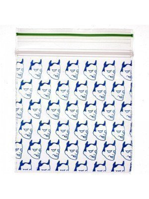 Wholesale Grip Seal Printed Baggies Blue Devil 50mmx50mm