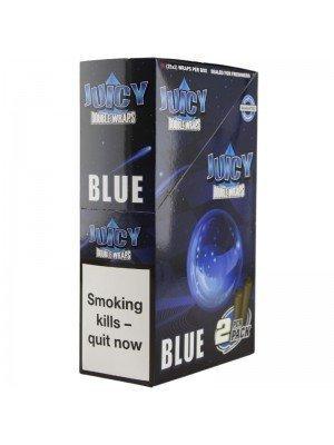 Wholesale Juicy Jay's Double Wrap - Blue