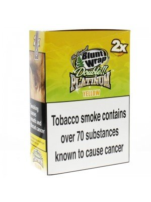 Blunt Wrap Double Platinum 2x - Yellow (Mango)