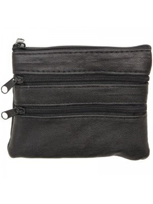 Wholesale Ladies Leather Coin Purse with 4 Compartments