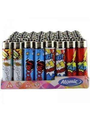"Wholesale Atomic Festival ""BOOM"" Flint Lighter - Assorted"