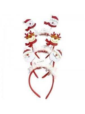 Wholesale Christmas Celebration Headband Deely Bopper
