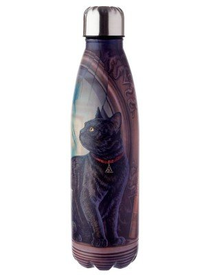 Wholesale Lisa Parker Absinthe Cat Reusable Stainless Steel Hot & Cold Thermal Insulated Drinks Bottle - 500ml