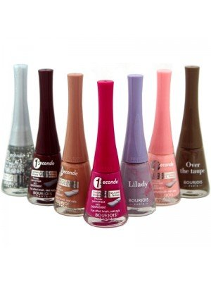Wholesale Bourjois 1 Seconde Nail Polish - Assorted