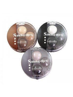 Wholesale Bourjois Intense Smoky Trio Eyeshadow Palettes - Assorted