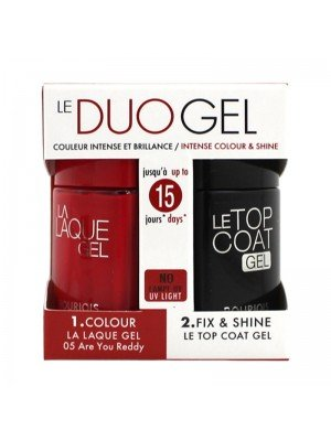 Wholesale Bourjois Le Duo Gel Nail Varnish Set - Are You Ready & Top Coat