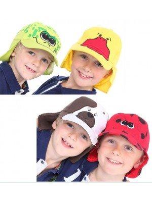 Wholesale Boy's Legionnaire Caps - Assorted Designs